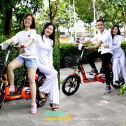 Xe đạp điện BMX STAR- AZI nhún khung sơn 18inch ( Bánh mâm )