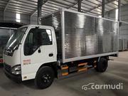 Xe tải Isuzu 2T2, tổng 4990 Thùng mui bạt, lưu thông thành phố