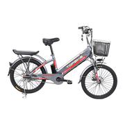 Xe đạp điện Topbike Ecooper (Màu xám - phiên bản mới)