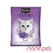 Cát Vệ Sinh Cho Mèo KitCat Hoa Oải Hương Túi 10L