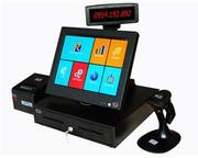 Máy tính tiền TopCash POS QT-68 màn hình cảm ứng 15