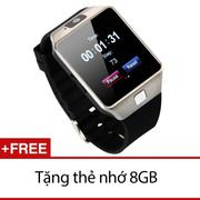 Đồng hồ thông minh Smartwatch InWatch C01 (Bạc TiTan) + Tặng 1 thẻ nhớ 8GB