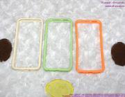 Ốp Iphone 5 viền nhựa mềm sành điệu OP83