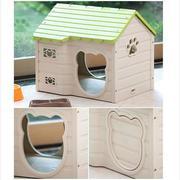 Purmi - Nhà ở cho chó màu xanh lá