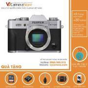 Fujifilm X-T20 body (Bạc) Tặng kèm 1 Loa JBL Clip 2 + 1 Thẻ nhớ 32Gb + 1 Pin dự phòng + 1 Túi Mirrol...