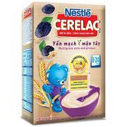 Bột Ăn Dặm Nestle Cerelac - Yến Mạch Và Mận Tây (200g)
