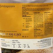 Combo 2 Gói Bột Yến Mạch Và Cám Gạo Milaganics 200g