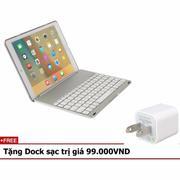 Bàn phím ốp lưng LED keyboard iPad Pro 9.7 Tặng Dock sạc