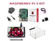 NEW Raspberry Pi 3 Starter Kit with Original Raspberry Pi 3 Model B + 5V 2.5A Power Supply + Heatsin...