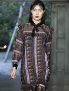Váy Họa Tiết V2137