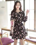 Váy liền thân Hàn Quốc DR25546