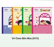 Vở Class Bốn mùa (0337)
