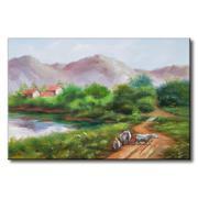 Tranh in canvas sơn dầu Thế Giới Tranh Đẹp Scenery 006