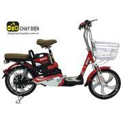 Xe đạp điện Bmx Classic nhún sau 18 inch (Đỏ đen)