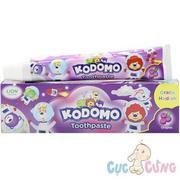 Kem đánh răng trẻ em Kodomo hương nho (Không Cay)