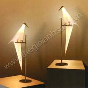 Đèn bàn LED hình chim đơn H1580mm VA8-T68/F