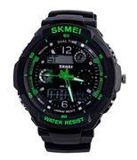 Đồng hồ nam SKMEI S-SHOCK I thể thao SK013 - Xanh lá