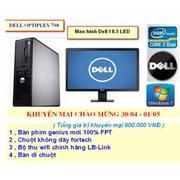 Bộ Cây Máy Tính Đồng Bộ Dell 780 , Màn hình Dell 18.5 LED