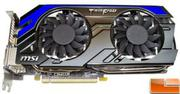 MSI GeForce GTX 660 Ti - 2048MB GDDR5 192 bits  PCI Express x16 3.0