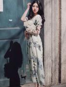 Váy Maxi Hoa V366