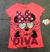 Áo Bé gái Minnine Mouse size 6-8t