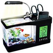 Bể cá phong thủy mini để bàn sử dụng nguồn USB - 3314526