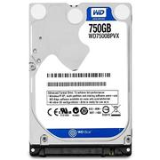 Ổ Cứng HDD Laptop WD Blue™ 750G/ 8MB/5400/2.5/9.5mm - WD7500BPVX