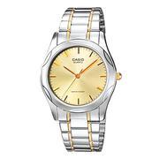 Đồng hồ nam dây thép không gỉ Casio (Dây bạc viền vàng mặt trắng) - MTP-1275SG-9ADF - 1808621