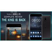 Nokia 6 RAM 4GB 32G (Đen) – Hàng nhập khẩu