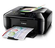 Máy Fax Canon PIXMA MX437, In, Scan, Copy, Fax, Wifi, In phun màu