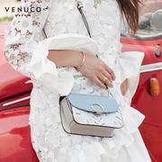 Túi xách ô tròn màu xanh Venuco Madrid B06S317