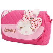 Kids Children Girls Princess Rabbit Bowknot Handbag Shoulder Bags Messenger Bag - intl