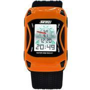 Đồng hồ trẻ em dây nhựa SKMEI Sk027 (Cam)