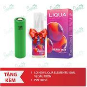 Bộ sản phẩm SMOK AL85 (Red) tặng 1 lọ tinh dầu New Liqua 10ml vị Thuốc lá nhẹ + 1 pin 18650