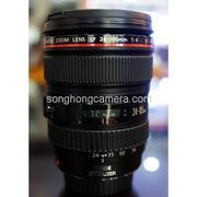 Lens Canon EF 24-105mm F4L IS USM qua sử dụng