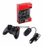 Tay cầm chơi game Microsoft Xbox 360 không dây cho Windows/PC/Laptop(Đen) - Hàng nhập khẩu
