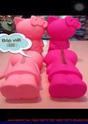 Bóp đựng viết mèo Kitty màu hồng cực dễ thương BV1