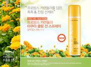 Xịt chống nắng Nature Republic Provence Calendula Aqua Cooling Sun Spray SPF50+/PA+++
