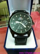 Đồng hồ dây da Tisot 3 mặt phong cách nổi bật DHNN84