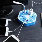Ổ cắm điện hình trái cam với 4 cổng USB