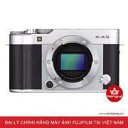 FujiFilm X-A3 Body (Bạc) - Hãng Phân phối chính thức