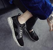 giày trainers nam da bóng