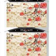 Bộ 2 giấy dán bếp cách nhiệt cỡ lớn 60*90cm (Hoa leo tường)
