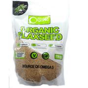 Hạt lanh vàng Organic Absolute 1kg