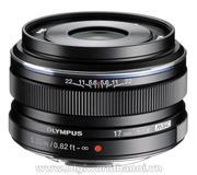 Olympus M.Zuiko ED 17mm F1.8 - Black