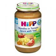 Dinh dưỡng đóng lọ Hipp Thịt bê, Mì sợi, Cà chua (6833) (220g)