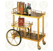 Xe đẩy phục vụ rượu hoàng gia mặt đá Gran C-15 820x425xH970