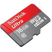 Thẻ nhớ MicroSD 16Gb Sandisk Ultra Class 10 - Hàng nhập khẩu