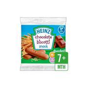 Bánh ăn dặm dạng bánh quy chocolate Heinz