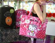 Túi xách thời trang Hello Kitty màu hồng dễ thương TXKI6